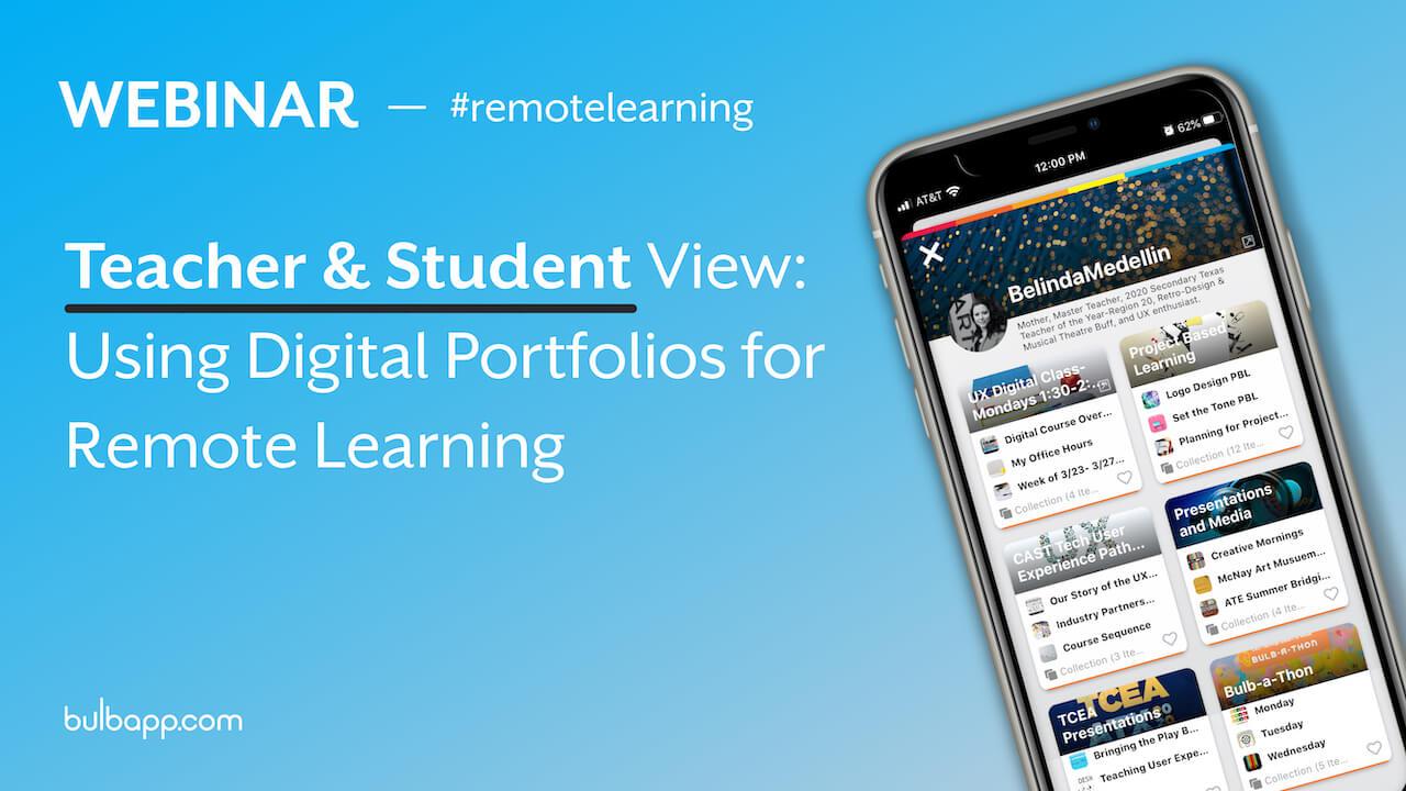 Webinar - Remote Learning Thumbnail